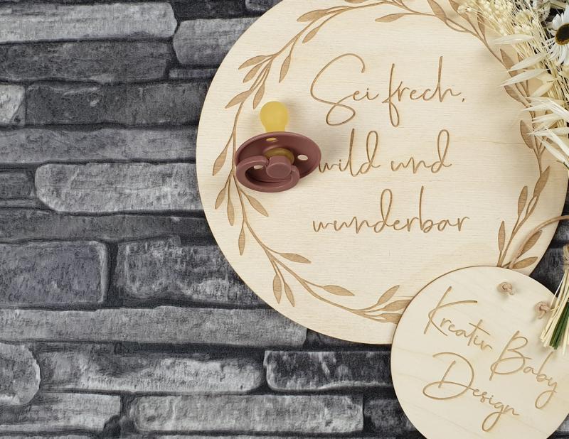 BIBS Schnuller - Woodchuck