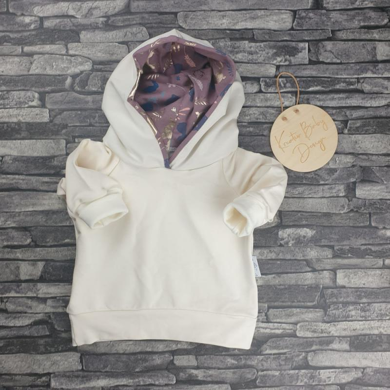Hoodie Emil - Beautiful Deer Creme