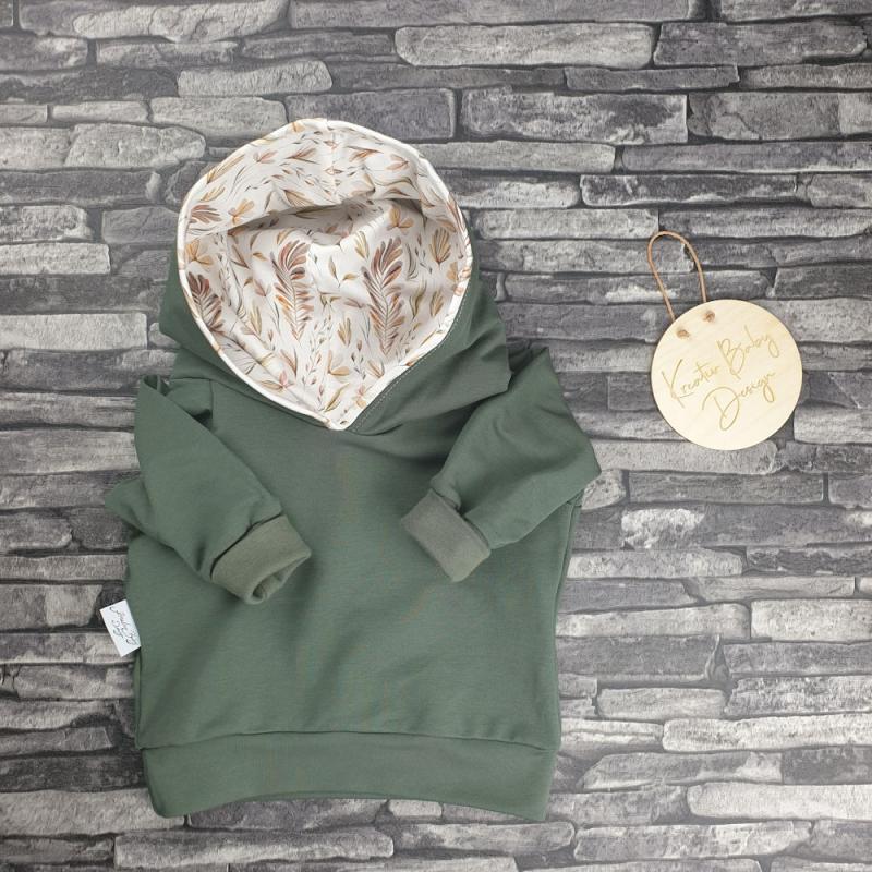 Hoodie Emil - Botanic Khaki